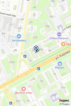ПРОМТОВАРНЫЙ МАГАЗИН АИН на карте Подольска