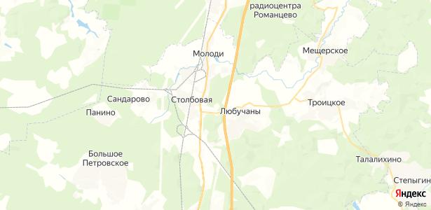 Березки на карте