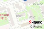 Схема проезда до компании Фрилантелеком в Москве