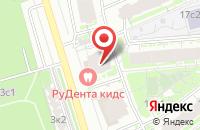 Схема проезда до компании Ид Медол в Москве