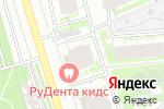 Схема проезда до компании Астрея в Москве