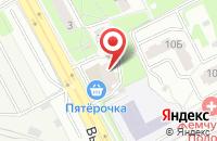 Схема проезда до компании Цветы в Подольске