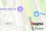 Схема проезда до компании Канюк в Москве