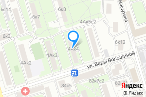 Снять однокомнатную квартиру в Москве м. Полежаевская, улица Куусинена, 4Ак4