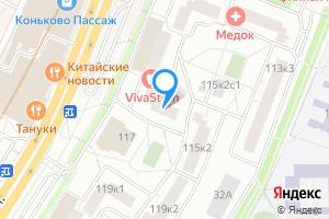 Сдается однокомнатная квартира в Москве Профсоюзная ул., 115к1