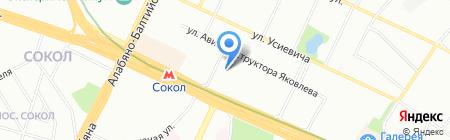 Алкон на карте Москвы