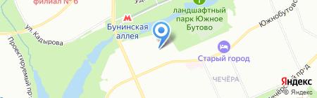 Средняя общеобразовательная школа №2009 с дошкольным отделением на карте Москвы