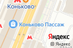 Схема проезда до компании Кони-Айленд в Москве