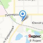 Мировые судьи Щёкинского района на карте Щёкино