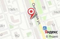 Схема проезда до компании Русский Мир в Москве