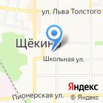 Администрация муниципального образования Щёкинский район на карте Щёкино
