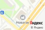 Схема проезда до компании НОВАТЭК в Москве