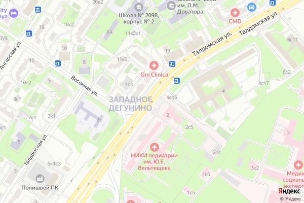 Ремонт телевизоров Улица Талдомская на яндекс карте