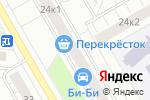 Схема проезда до компании LADA Деталь в Москве