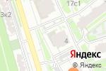 Схема проезда до компании Nook в Москве