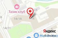 Схема проезда до компании Алмазы России-Саха в Москве