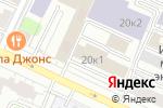 Схема проезда до компании Открытый Портал в Москве