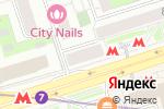 Схема проезда до компании Красотка в Москве