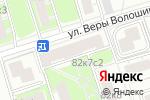 Схема проезда до компании Нотариус Юсупова Н.И. в Москве