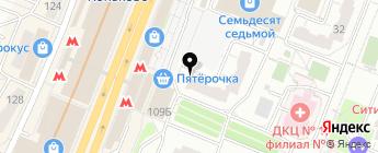 ОСАГОиКАСКО.НЕТ на карте Москвы