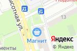Схема проезда до компании Overmoda в Подольске