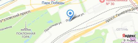 Мир красоты на карте Москвы