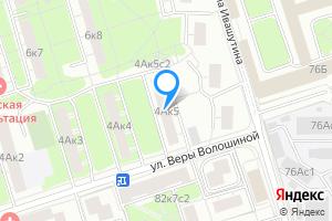 Комната в однокомнатной квартире в Москве м. Полежаевская, улица Куусинена, 4Ак5