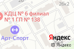 Схема проезда до компании Инжтехник в Москве