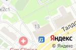 Схема проезда до компании Шах-Даг в Москве
