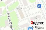 Схема проезда до компании BROCUS в Москве