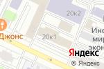 Схема проезда до компании Парамитек в Москве