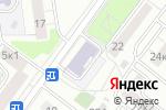 Схема проезда до компании Московский учебный центр профессиональной квалификации в Москве
