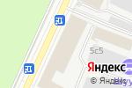 Схема проезда до компании Mute & Loud в Москве