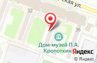 Схема проезда до компании Хет в Дмитрове