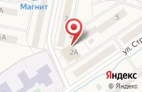 Схема проезда до компании КОМТЕХ в Львовском