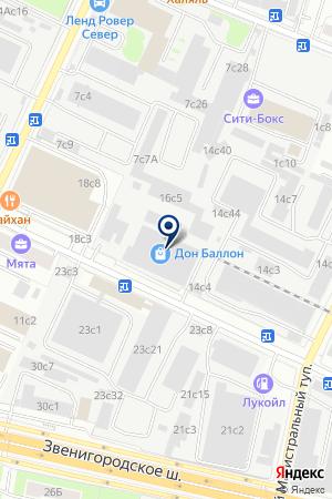 ТФ СВ-АЛЮР на карте Истры