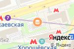 Схема проезда до компании Hoff в Москве