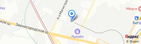 ТРИАЛ+Секьюрити на карте Москвы