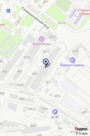 ТФ КОНТЕКХОЛЛ на карте Солнечногорска