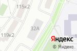 Схема проезда до компании Элан галерея в Москве