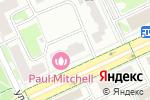 Схема проезда до компании Magic Smile в Москве