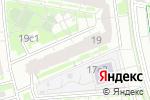 Схема проезда до компании Автомойка на Ходынке в Москве