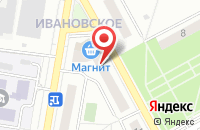 Схема проезда до компании Подольск-Сервис в Подольске