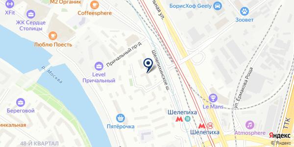 Магазин продуктов из Армении на карте Москве