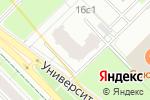 Схема проезда до компании Цветок сакуры в Москве