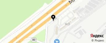 Т-запчасти на карте Москвы