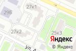 Схема проезда до компании РусьЛифт в Москве