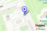 Схема проезда до компании УРАЛГАЗСЕРВИС в Москве