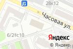 Схема проезда до компании Lak Berry в Москве