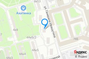 Сдается однокомнатная квартира в Москве м. Полежаевская, улица Куусинена, 6к10